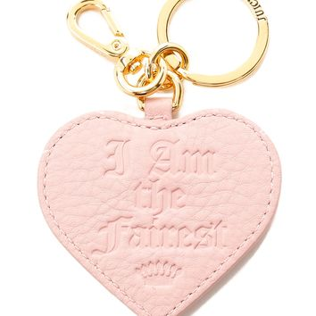 I Am the Fairest Leather Key Fob