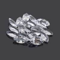Genuine Crystal Quartz Marquise 6x12mm AAA Grade Supplies Loose Gemstone Excellent Cut - 20Pcs, Wholesale Gemstone