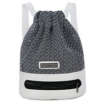 Adidas Fashion Casual  Simple Pull rope School  Backpack Travel Bag