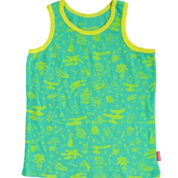 Killing Time Tank Top Green