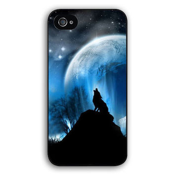The Twilight Moive Wolf and Moon case cover for Iphone 4S 5 5S 5C 6 Plus for Samsung galaxy S3/4/5/6/7 Note 3 4 5 Ipod Touch 4 5