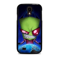 Invader Zim Yes or No Cartoon Samsung Galaxy S4 Cases