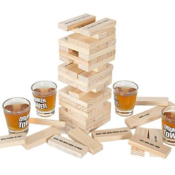 Drunken Tower Jenga Games The Crab A Piece Drinking Games Jigsaw Board Game Bingo Night Club Party Games