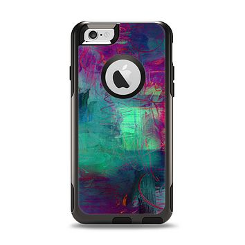 The Abstract Oil Painting V3 Apple iPhone 6 Otterbox Commuter Case Skin Set