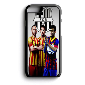 iniesta messi and neymar iPhone 4s iPhone 5 iPhone 5c iPhone 5s iPhone 6 iPhone 6s iPhone 6 Plus Case | iPod Touch 4 iPod Touch 5 Case
