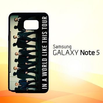 Backstreet Boys BSB Z0125  Samsung Galaxy Note 5 Case