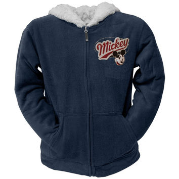 Mickey Mouse - Champions Women's Zip Navy Hoodie