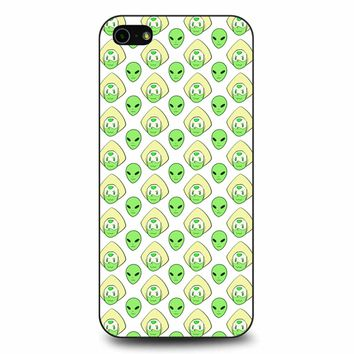 Peridot And The Alien iPhone 5/5s/SE Case
