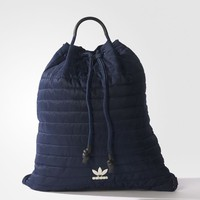 adidas Blue Geology Bucket Gym Sack - Blue | adidas US
