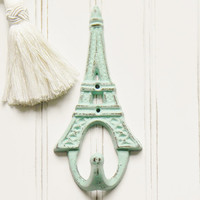 Eiffel Tower Wall Hook, Choose your Color, Eiffel Tower Hook, Eiffel Tower Coat Hook, Eiffel Tower Home Decor, Wall Hooks, Coat Hook, Paris
