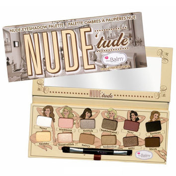 NUDE TUDE 12 color Eyeshadow Palette