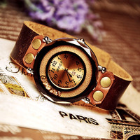 Women Watch - Leather Women Wrist Watch (WAT0028)