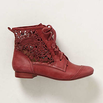 Anthropologie - Irene Lace Booties