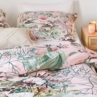 83 Oranges For Deny Botanic Duvet Cover | Urban Outfitters
