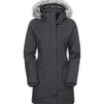 The North Face Women's Arctic Parka Jacket Graphite Grey Heather
