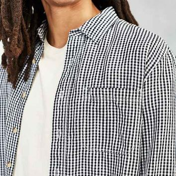 CPO Gingham Linen Dress Shirt