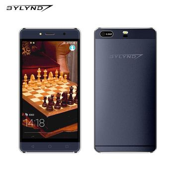 """Original smartphones Bylynd M11 android 6.0 quad core 1G ram MTK6580 8.0mp 5.0"""" HD 1280x720 WCDMA unlocked mobile phone"""