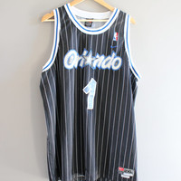 US Free Shipping McGrandy NBA Basketball Jersey Orlando Magic Nike Tank Jersey Oversize Loose-fit Vintage 90s Size XXL #T119A