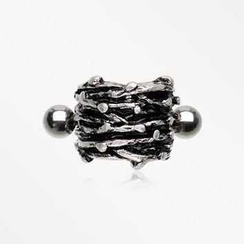 Gothic Wreath of Thorns Cartilage Cuff Earring