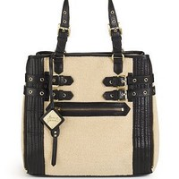 Mark + James by Badgley Mischka - Paige Faux Shearling Tote