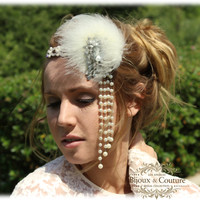 Bridal hair accessory,Crystal headband, bridal headband, 1920's Jewelry, vintage inspired headband, vintage hair jewelry