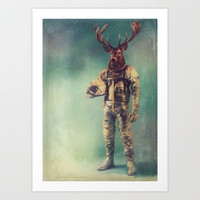 Without Words Art Print by Rubbishmonkey