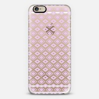 Lavender Diamonds (transparent) iPhone 6 case by Lisa Argyropoulos | Casetify