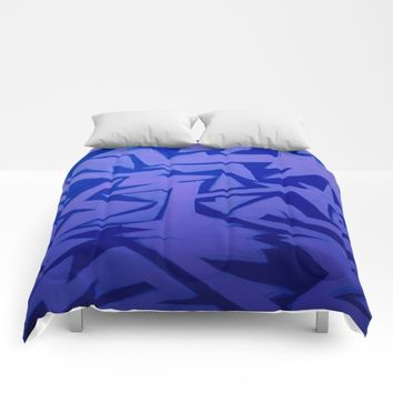 Electric Pop Comforters by DuckyB