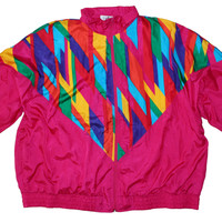Rainbow Cascade Track Jacket XL