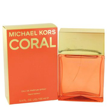 Michael Kors Coral By Michael Kors Eau De Parfum Spray 3.4 Oz