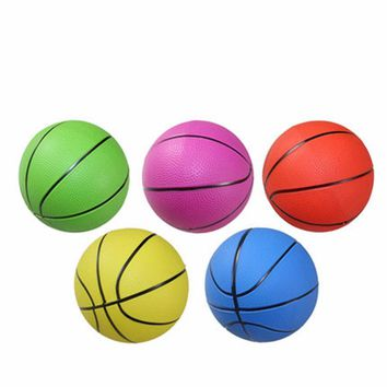 10/15/20cm Indoor Outdoor Baby Basketball Sport Kids Toys Outdoor Fun Sports Inflator High Quality PVC Beach Ball Toy Hot Sell