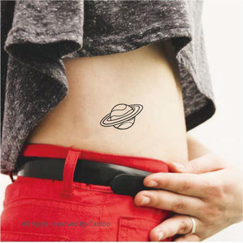 Planet- Temporary Tattoo, tattoos, T269