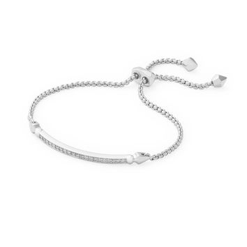 Ott Adjustable Bracelet in Silver | Kendra Scott Jewelry