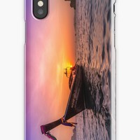 'Longtail Sunset' iPhone Case/Skin by Nicklas Gustafsson