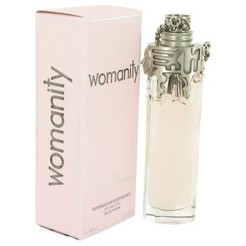 Womanity by Thierry Mugler Eau De Parfum Refillable Spray 2.7 oz