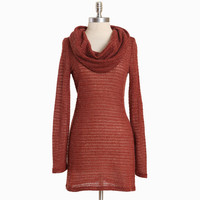 dermot knit cowlneck tunic - $32.99 : ShopRuche.com, Vintage Inspired Clothing, Affordable Clothes, Eco friendly Fashion