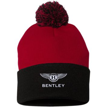Bentley SP15 Sportsman Pom Pom Knit Cap