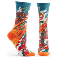 Four Elements Fire Sock