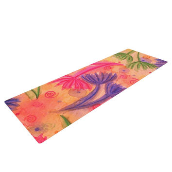 "Ebi Emporium ""Cow Parsley"" Yoga Mat"