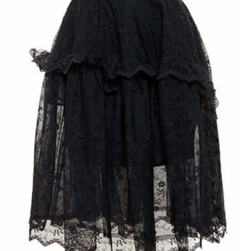 SIMONE ROCHA | Full Lace Skirt | brownsfashion.com | The Finest Edit of Luxury Fashion | Clothes, Shoes, Bags and Accessories for Men & Women