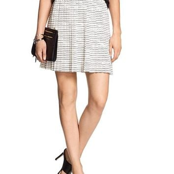 Banana Republic Womens Factory Print Mini Skirt