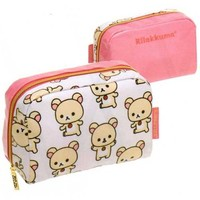 "San-X Rilakkuma Everyday 6.1"" Multi-Use Pouch: Little Bear"