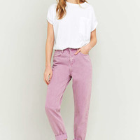 BDG Lilac Mom Jeans - Urban Outfitters