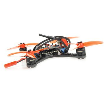 JMT Leader-120 120mm Carbon Fiber DIY Mini FPV Racing Airplane Drone Camera OSD F3 Brushless BNF Combo Set