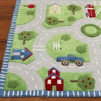Play in the Park Rug | Pottery Barn Kids