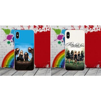 Soft Phone Cover Case Coque Pretty Little Liars Tv For Sony Xperia Z Z1 Z2 Z3 Z4 Z5 compact Mini Premium M2 M4 M5 T3 E3 E5 XA