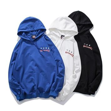 Hoodies Hip-hop Strong Character Couple Tops Hats [1573979947101]