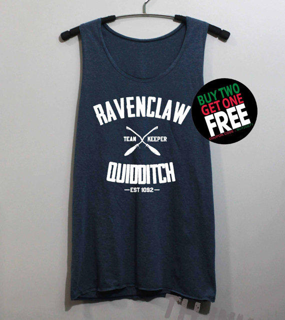 ce2c414d505 Ravenclaw Quidditch Shirt Harry Potter from ThinkingGallery on