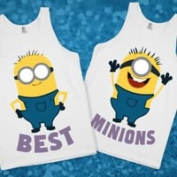 Best Minions - Skreened T-shirts, Organic Shirts, Hoodies, Kids Tees, Baby One-Pieces and Tote Bags Custom T-Shirts, Organic Shirts, Hoodies, Novelty Gifts, Kids Apparel, Baby One-Pieces | Skreened - Ethical Custom Apparel
