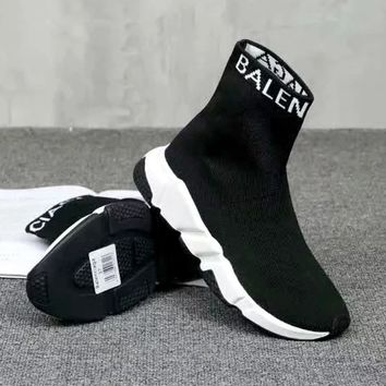 Balenciaga 2019 new women's models wild thick-soled casual socks